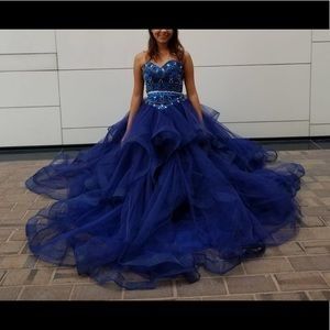 Dresses & Skirts - Royal blue quinceñiera dress